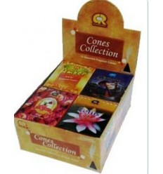 Coffret encens GR en cônes 12 fragrances